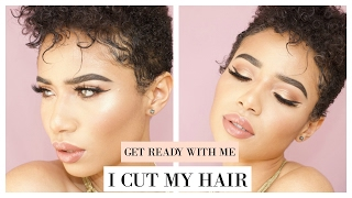 GRWM| I CUT MY HAIR OFF!