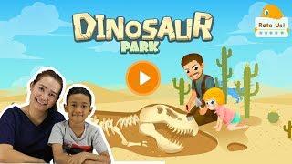 น้องโปรแกรม รีวิวเกมส์ Dinosaur Park ขุดฟอสซิลไดโนเสาร์