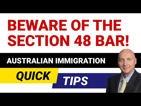 Section 48 Bar? What is it?