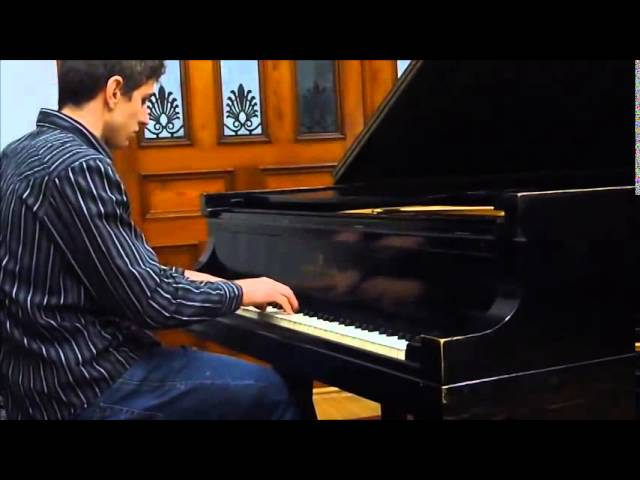 Cours de piano montreal.  Montreal piano lessons:  Advanced: Prokofiev: