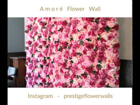 Amoré' Flower Wall