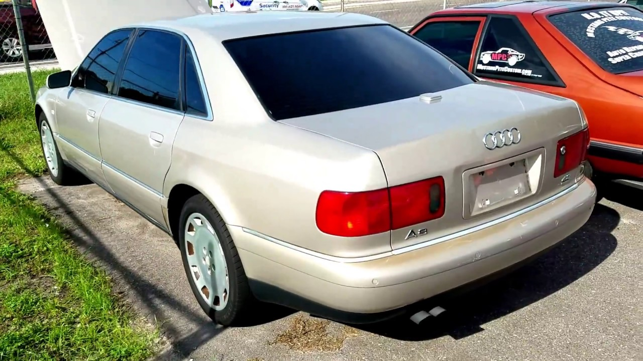 small resolution of 2001 audi a8 l 4 2 v8 quattro walkaround and rev