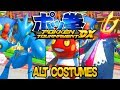 Pokken Tournament DX ALL Alternative ( Shiny ) Pokemon Costumes + Megas