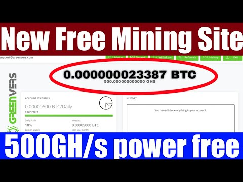 New free Bitcoin Mining website 2020 – Earn free Bitcoins without investment – Free btc earn