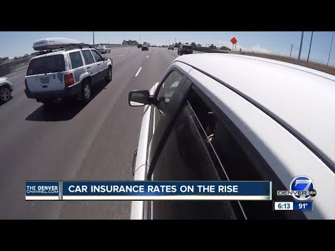 Car insurance rates on the rise