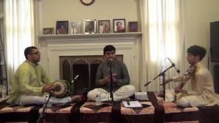 Arvind Sridhar - 06 srI saraswathi namOsthuthE