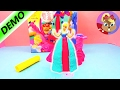 Oyun Hamuru izle Play Doh Disney Sindirella Balo Elbisesi Yapımı - oyun hamuru ile Elbisesi yapimi
