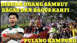 Download Video MERIAH SAMBUTAN BAGUS KAHFI DAN BAGAS KAFFA DI KAMPUNG HALAMAN MP3 3GP MP4