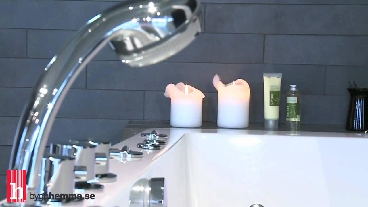 Bygghemma.se - Bubbelbadkar Hafa Lime - YouTube