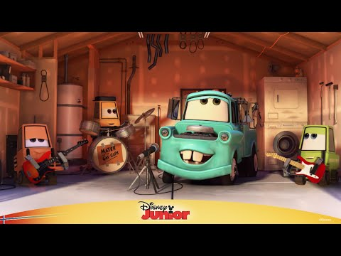 Biler: Heavy metal-Taue-Bill - Disney Junior Norge