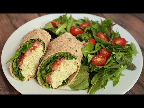 3 Healthy Wrap Recipes | Back to School Lunch Ideas