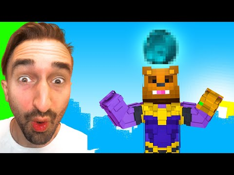Crafting the SPACE STONE To STOP THANOS in Insane Craft w/ SSundee