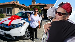 Firing My Maid, Then Surprising Her With a Car! (EMOTIONAL)