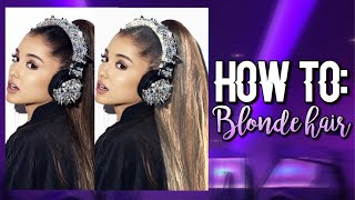 How to: Blonde hair | Superimpose💜