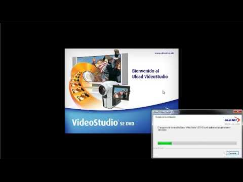 como instalar ulead video studio 10