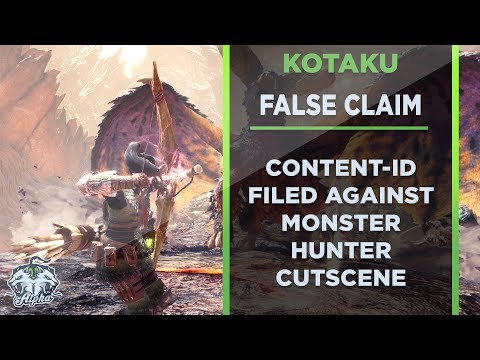 Kotaku and Fusion Media file false Content ID over Monster Hunter World Cutscene
