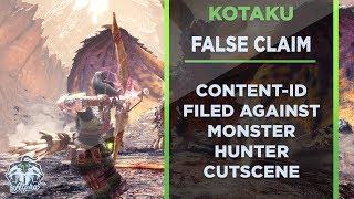 Kotaku and Fusion Media file false Content ID over Monster Hunter World Cutscene