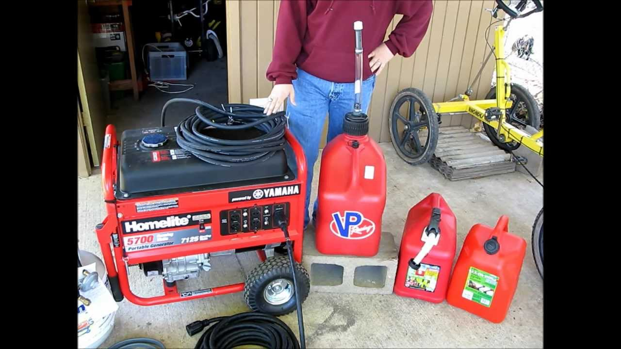 How To Run A Portable Generator On Gasoline Natural Gas And Propane