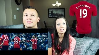 Marcus rashford - the fairy tale - manchester united | couples reaction!!