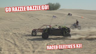 Our FIRST RACE In The Turbo V6 Dune Buggy!
