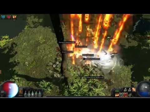 Path Of Exile Scion Firestorm Build