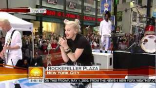 No Doubt - Spiderwebs (Live Today Show)