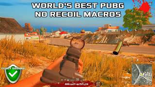 Скачать PUBG No Recoil Macros Scripts For EVERY Mouse Undetectable Chicken Dinner Guarantee