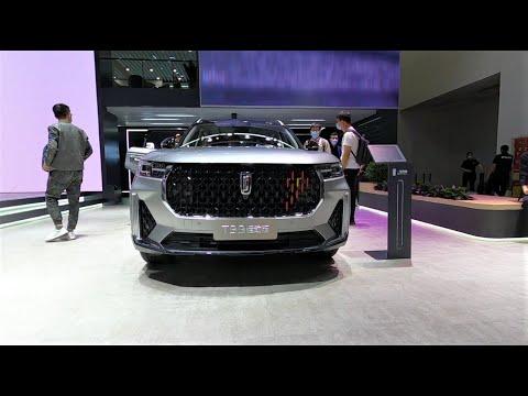 2021 FAW Bestune T99 Sport Walkaround—2020 Beijing Motor Show—2021款一汽奔腾T99运动版,外观与内饰实拍