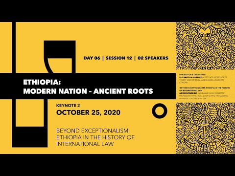 Ethiopia in the History of International Law