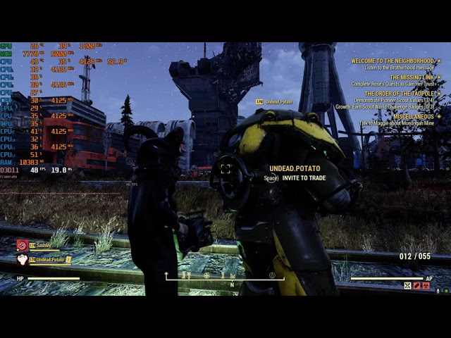 (Gaming Video): The Borbs play Fallout 76. It's a Random Video so don't ask!