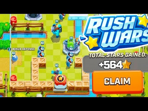 Rush Wars STRONGEST Gold Mine Base Defense and Layout (HQ 5