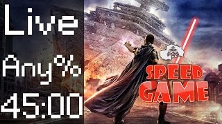Speed Game: Live Star Wars: The Force Unleashed en moins de 45 minutes