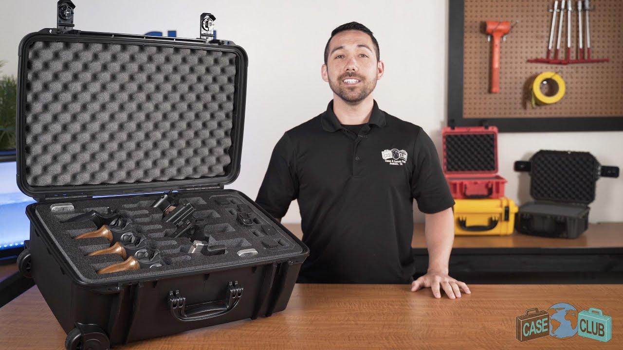Case Club 8 Revolver & Accessory Case - Overview - Video