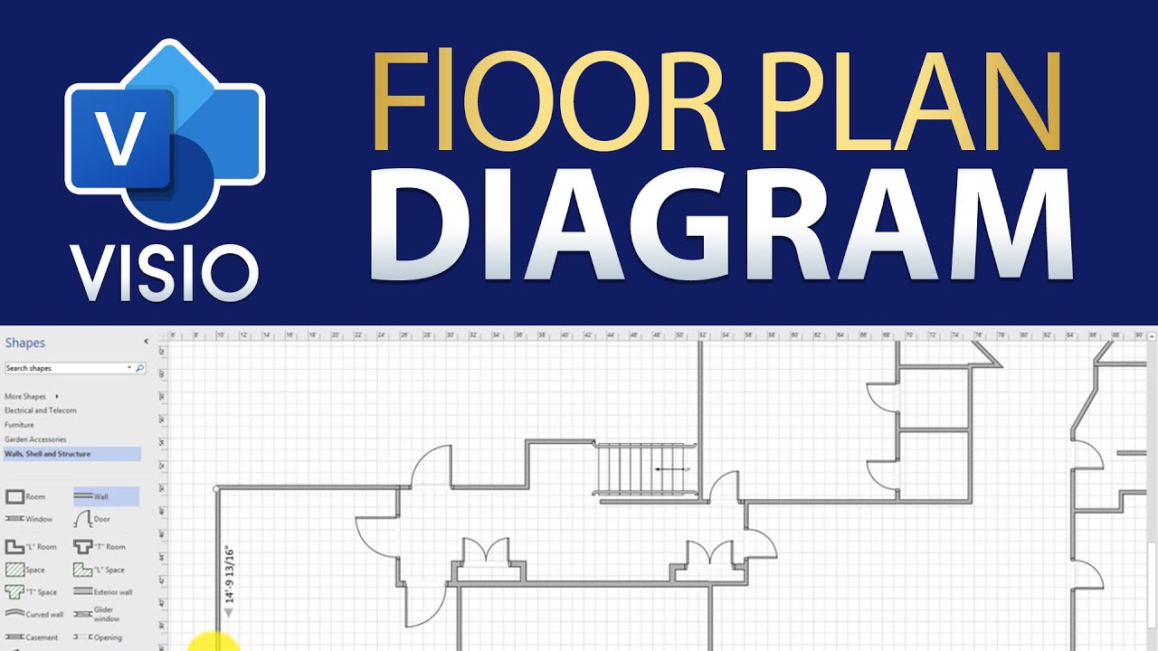 How to Draw a Floor Plan in Visio