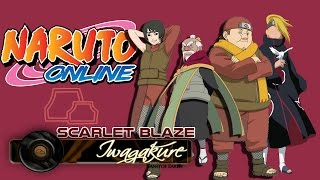 Naruto Online - Formasi Combo Team Iwagakure  | Scarlet Blaze #3