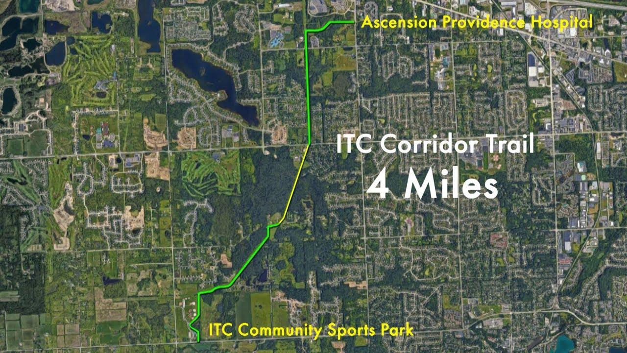 City of Novi, Michigan - ITC Corridor Trail