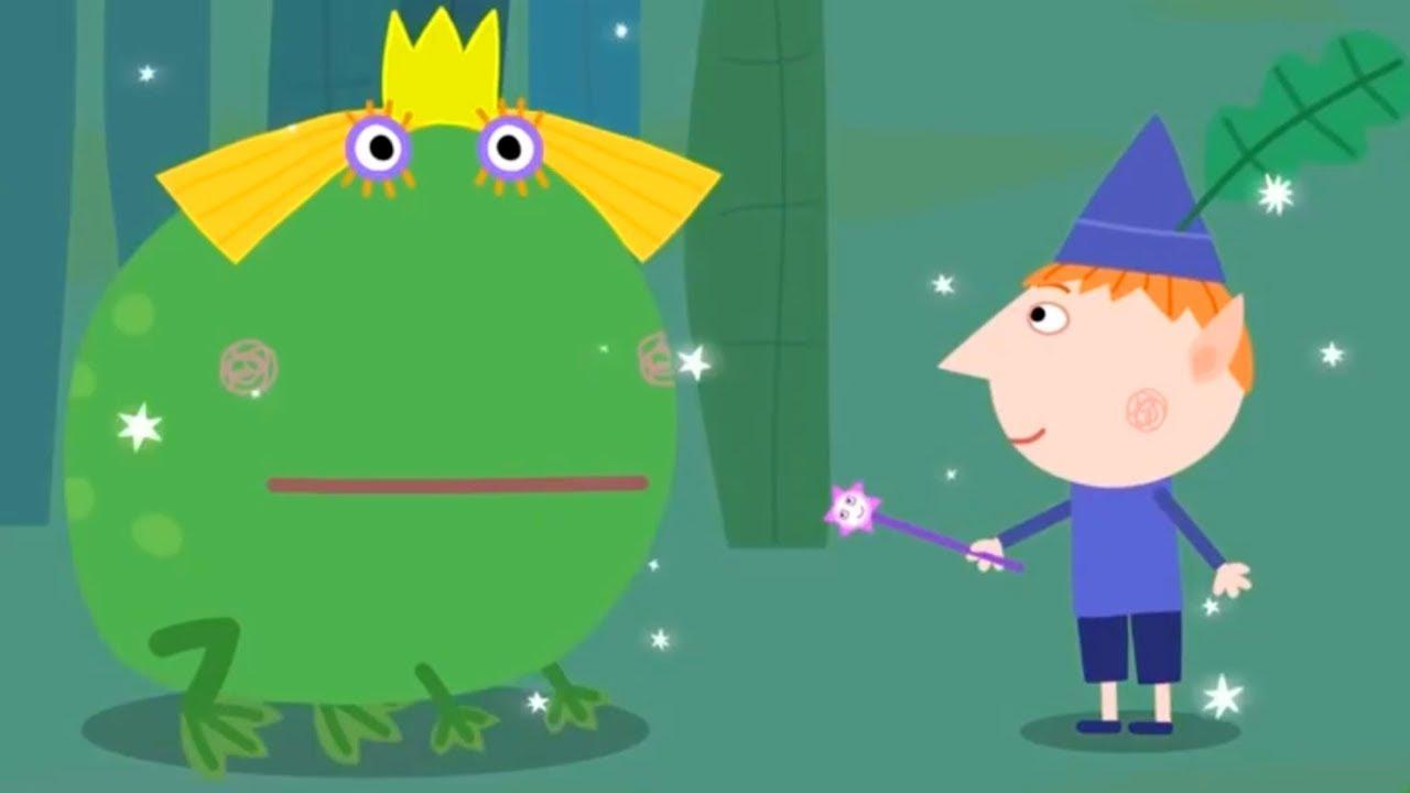 Le Petit Royaume De Ben Et Holly Le Prince Grenouille Episode Complet En Français Dessin Animé Youtube