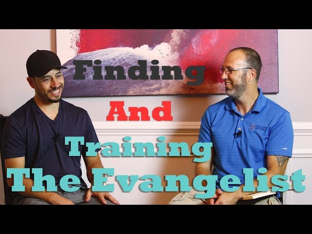 Tommy Interviews- Pastor Johnny About Training The Evangelist