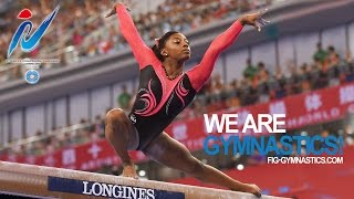 BILES Simone (USA) – 2014 Artistic Worlds, Nanning (CHN) – Qualifications Beam