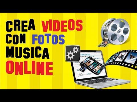 Hacer Videos de Fotos con Música ONLINE 2018 Sin Programas y GRATIS 😎🎬
