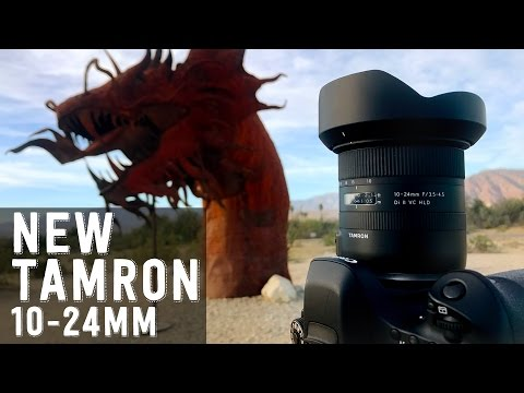 Tamron 10-24mm f/3 5-4 5 Di II VC HLD | Lens Review for