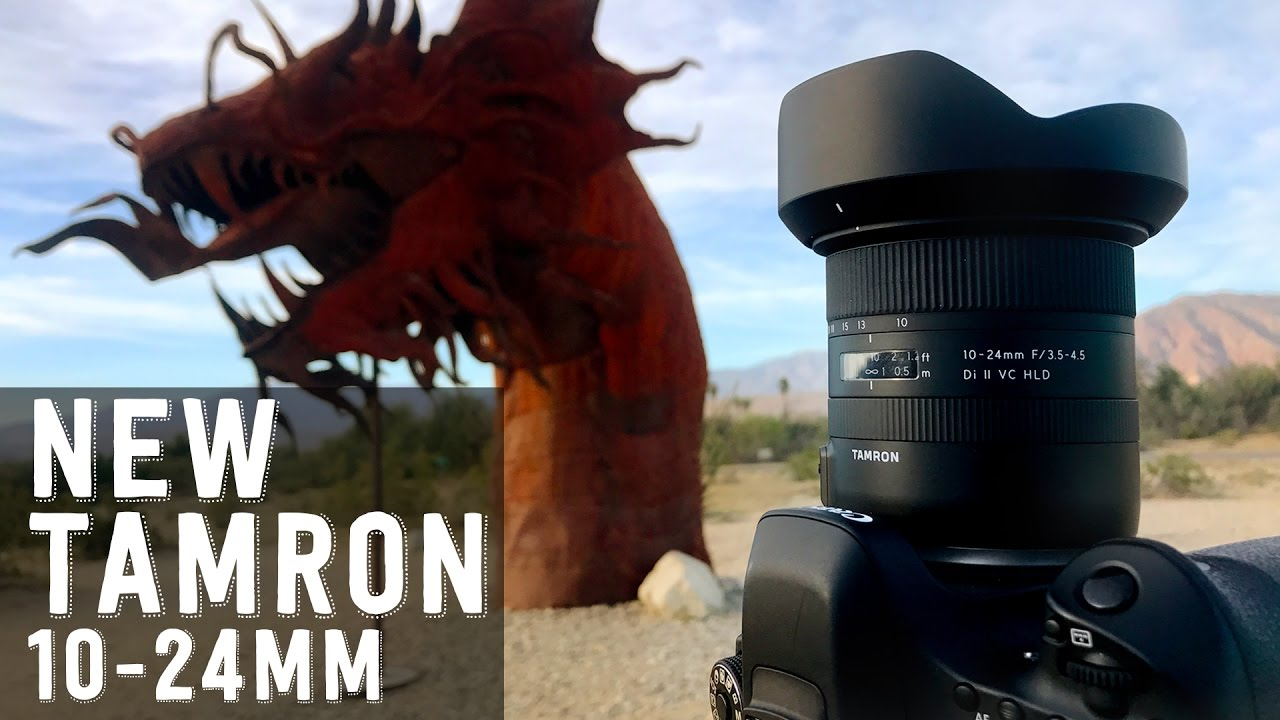 Tamron 10-24mm f/3 5-4 5 Di II VC HLD | Lens Review for Video & Field Test