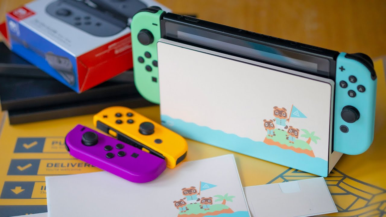 Turn Your Nintendo Switch Into A Not Animal Crossing Switch With This New Skin Raymond Strazdas Youtube