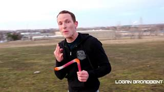 "REAL Boomerangs Used in Dude Perfect ""Boomerang Trick Shots!"""