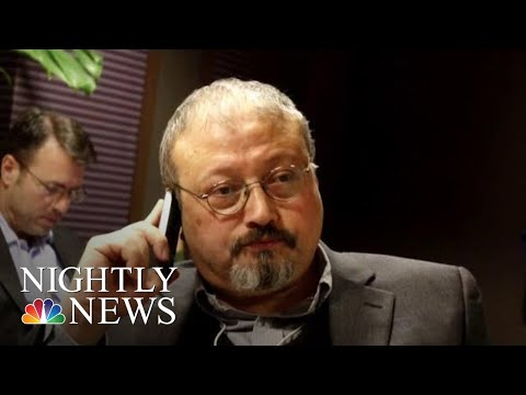 President Donald Trump Suggests Missing Saudi Journalist May No Longer Be Alive | NBC Nightly News