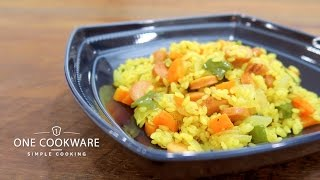 Vegetable and Wiener Curry Pilaf   Life THEATER: Recipes for useful cooking videos