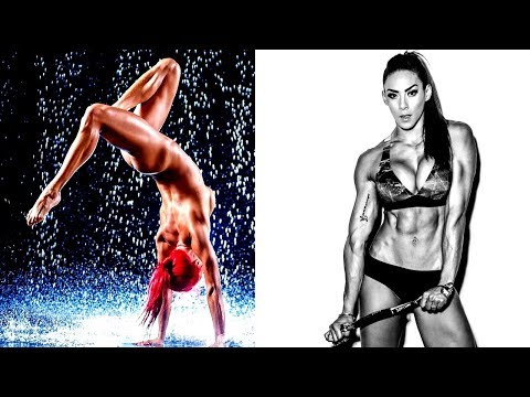 Crazy Workout - CrossFit - Unusual Exercises For Girls ❤ Hannah Eden