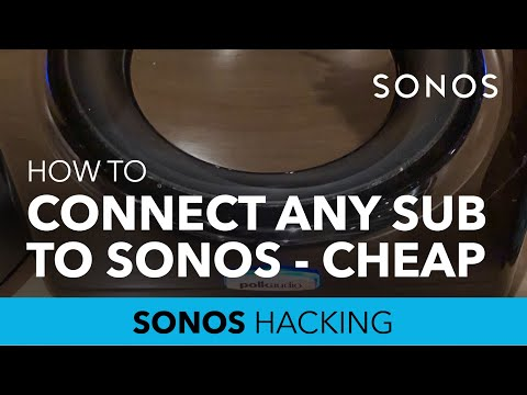 Add any subwoofer to Sonos with this Ikea Symfonisk DIY hack
