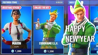 ITEM SHOP COUNTDOWN! *NEW YEAR SKINS* Last Stream of 2018! Happy NEW YEAR! FORTNITE LIVE stream