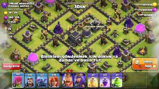Clash of clans +1.000.000 ganimet